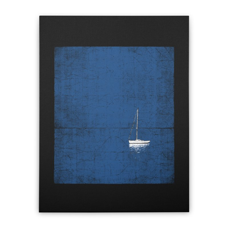 Pure Blue Home Stretched Canvas by bulo