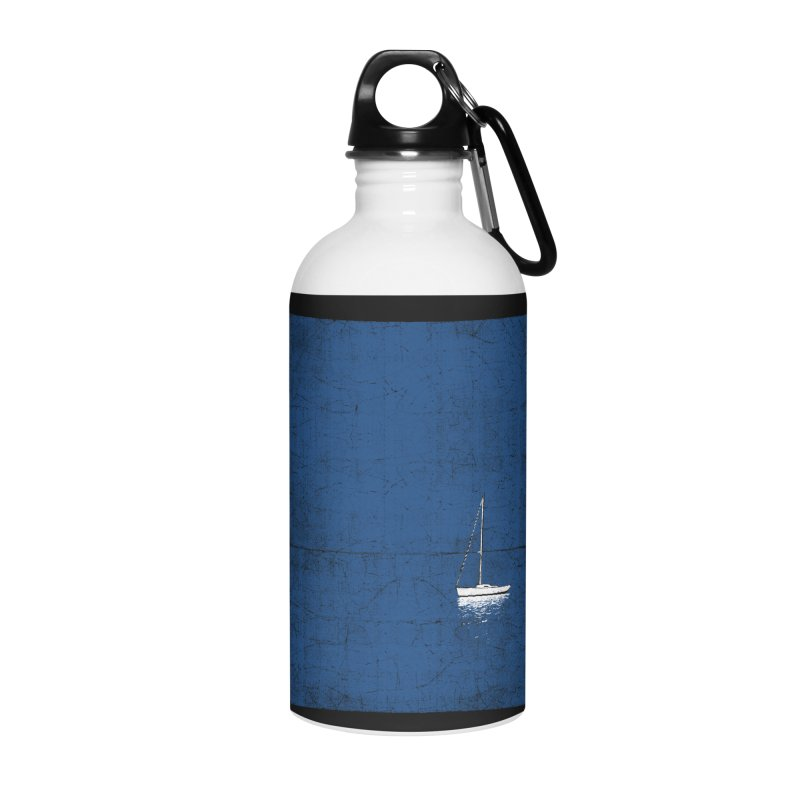 Pure Blue Accessories Water Bottle by bulo