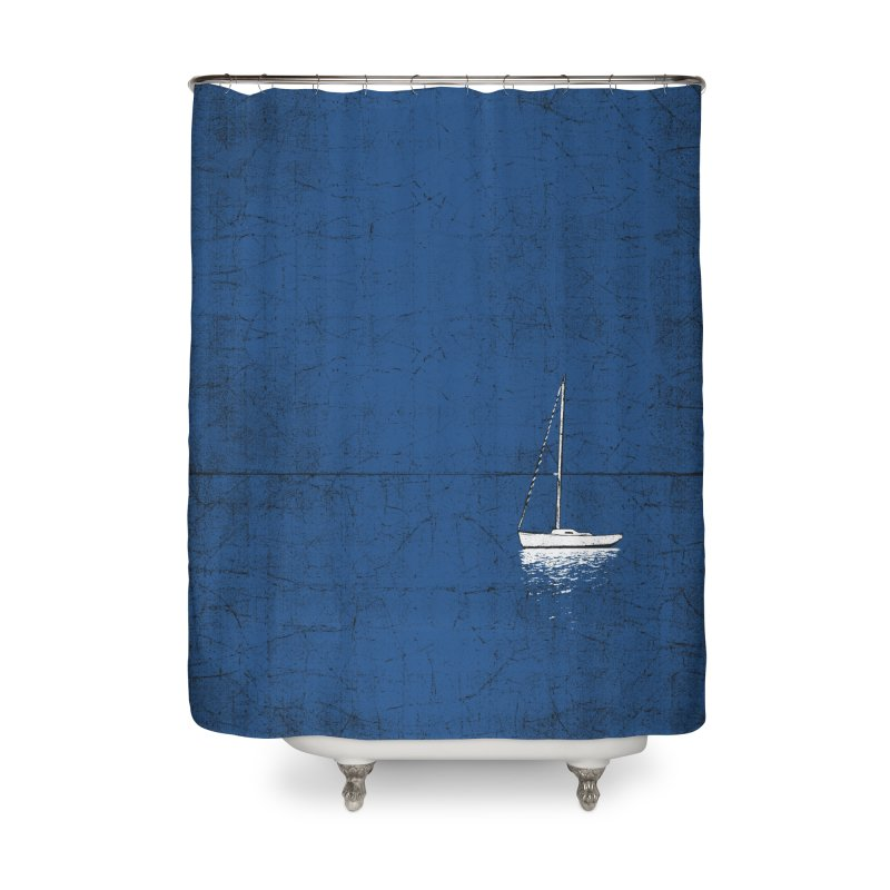 Pure Blue Home Shower Curtain by bulo