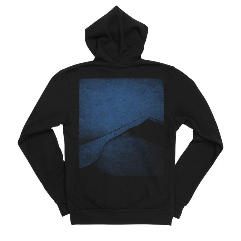 Dune (Twilight Blue Version) Men's Sponge Fleece Zip-Up Hoody by bulo