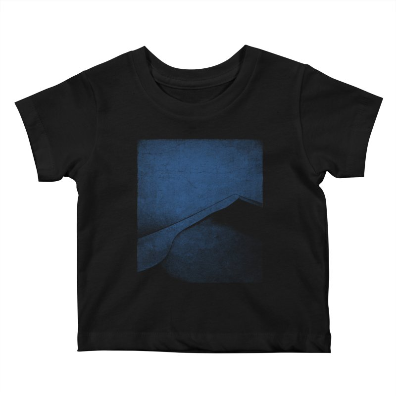 Dune (Twilight Blue Version) Kids Baby T-Shirt by bulo