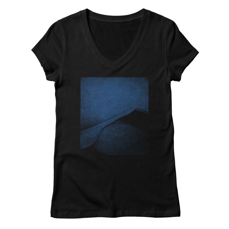 Dune (Twilight Blue Version) Women's Regular V-Neck by bulo