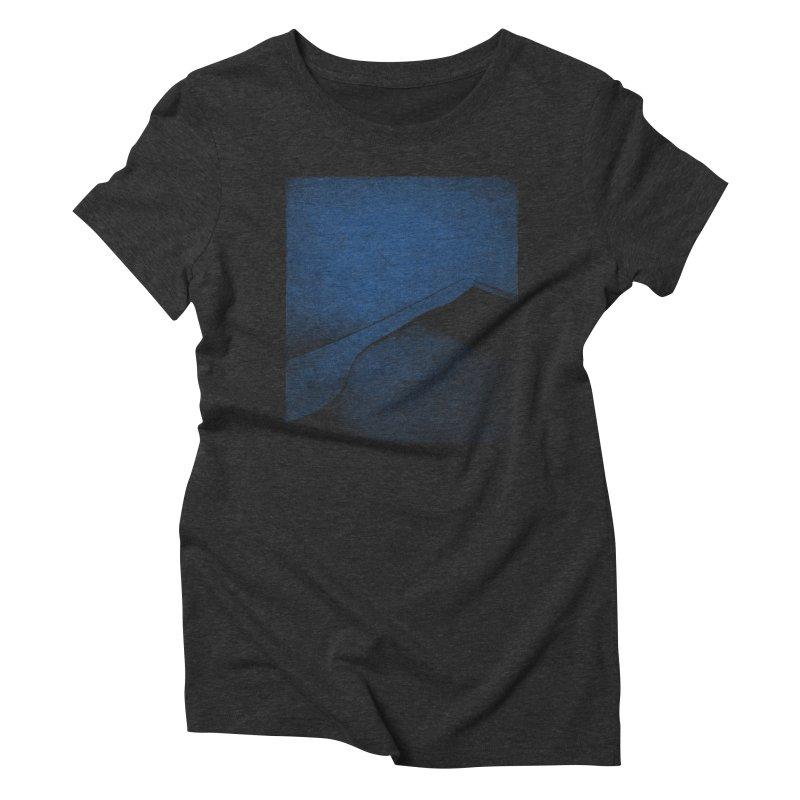 Dune (Twilight Blue Version) Women's Triblend T-Shirt by bulo