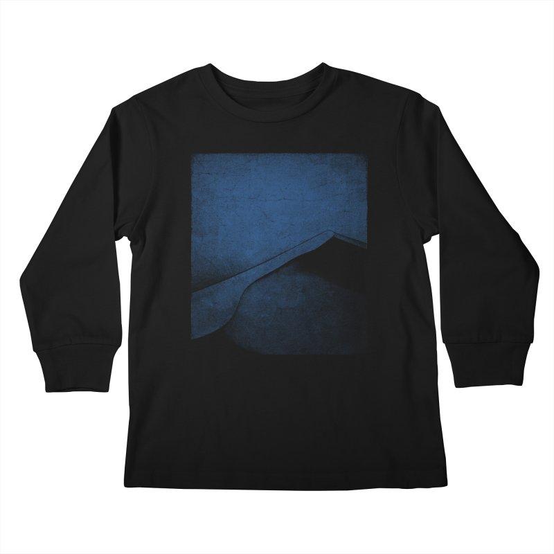 Dune (Twilight Blue Version) Kids Longsleeve T-Shirt by bulo