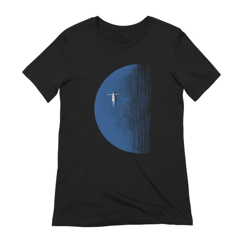 Pure Blue Moon Phantasy Women's Extra Soft T-Shirt by bulo