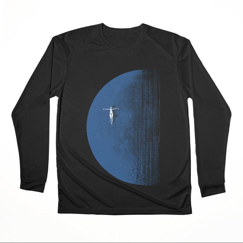 Pure Blue Moon Phantasy Women's Performance Unisex Longsleeve T-Shirt by bulo