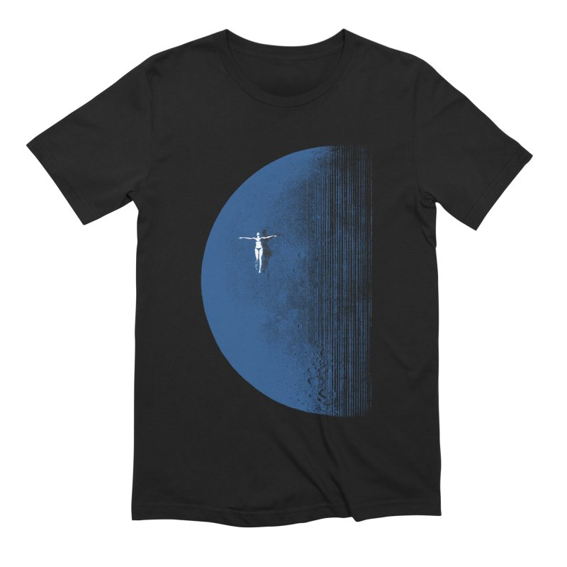 Pure Blue Moon Phantasy Men's Extra Soft T-Shirt by bulo
