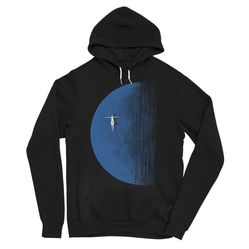 Pure Blue Moon Phantasy Men's Sponge Fleece Pullover Hoody by bulo