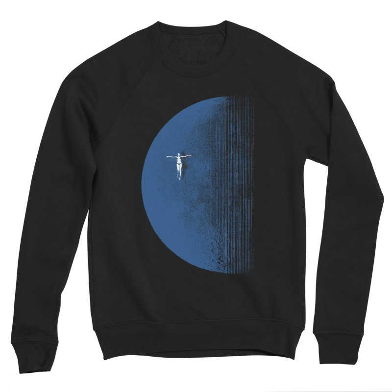 Pure Blue Moon Phantasy Women's Sponge Fleece Sweatshirt by bulo