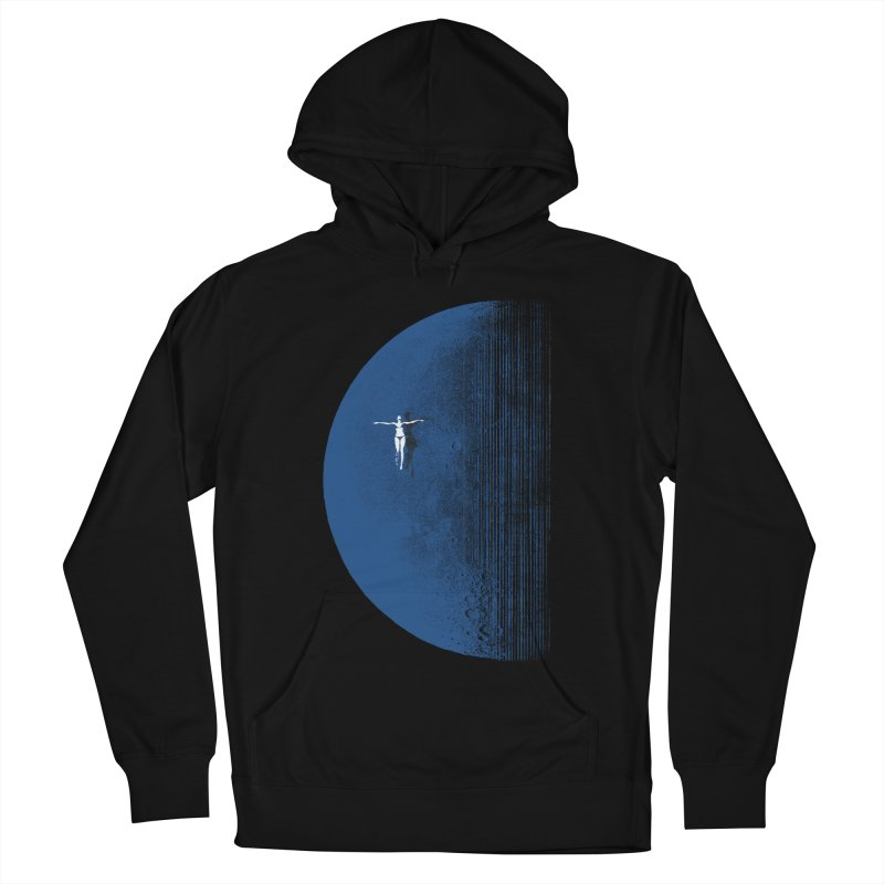 Pure Blue Moon Phantasy Men's French Terry Pullover Hoody by bulo