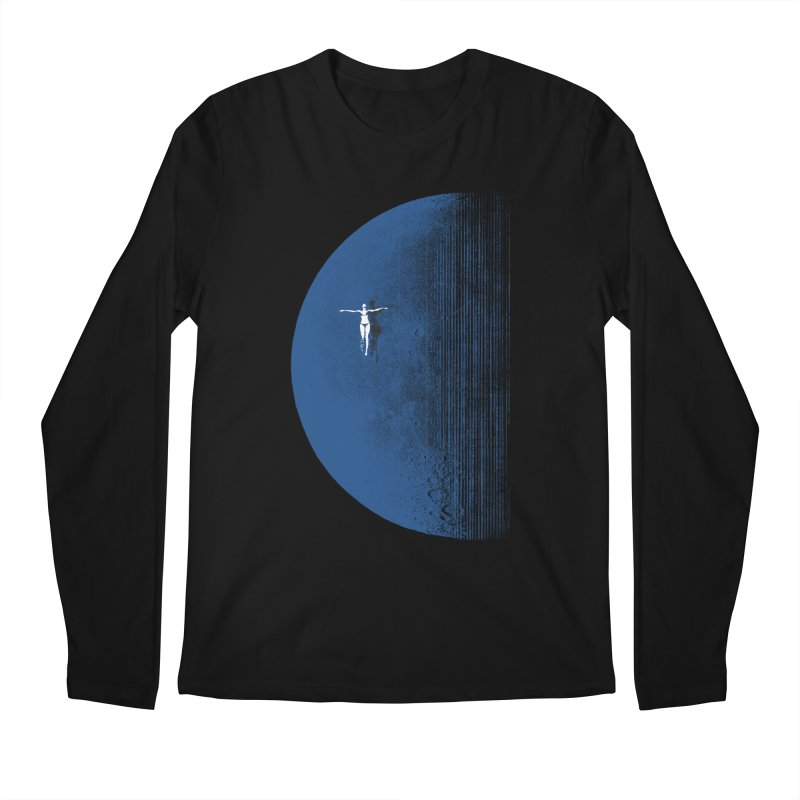 Pure Blue Moon Phantasy Men's Regular Longsleeve T-Shirt by bulo