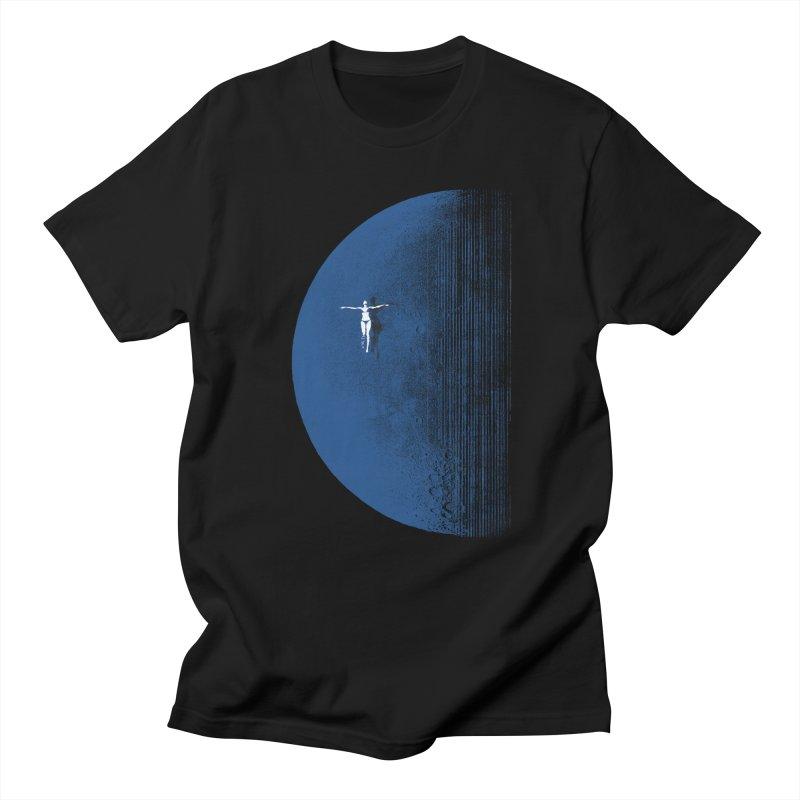 Pure Blue Moon Phantasy Men's Regular T-Shirt by bulo