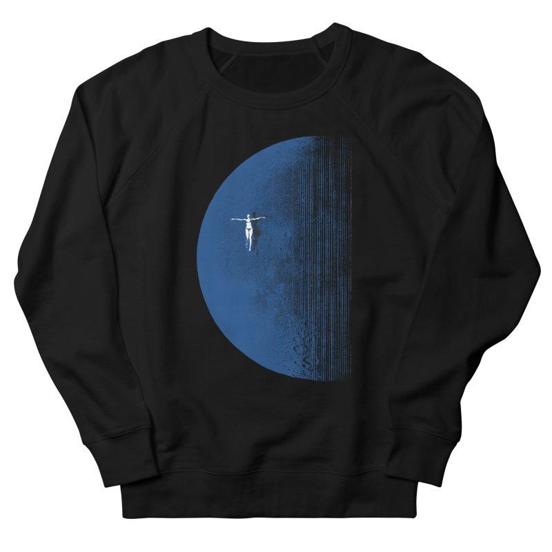 Pure Blue Moon Phantasy Men's French Terry Sweatshirt by bulo