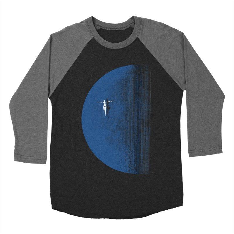 Pure Blue Moon Phantasy Men's Baseball Triblend Longsleeve T-Shirt by bulo