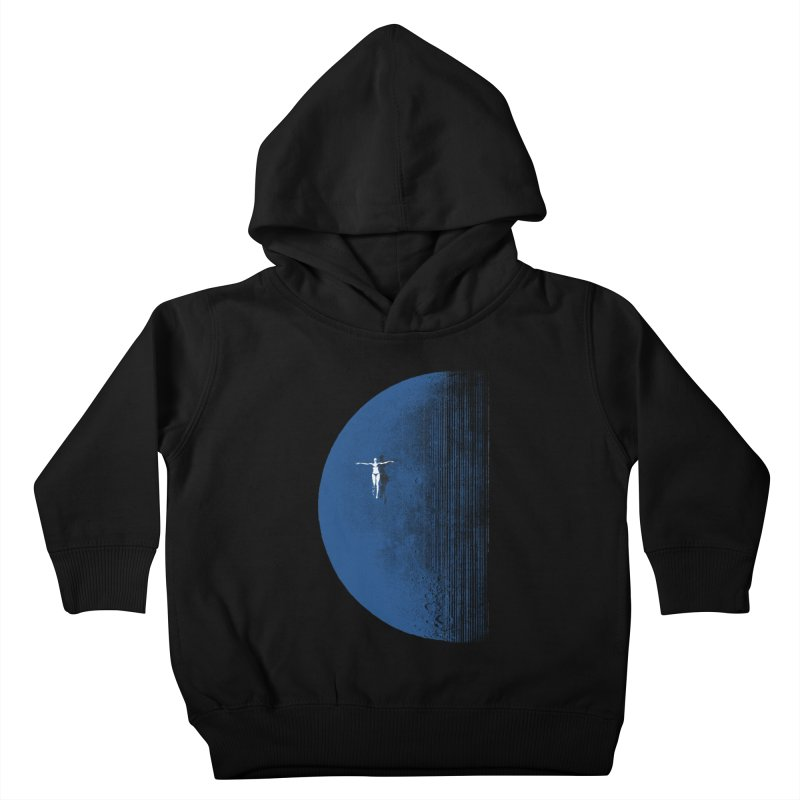 Pure Blue Moon Phantasy Kids Toddler Pullover Hoody by bulo