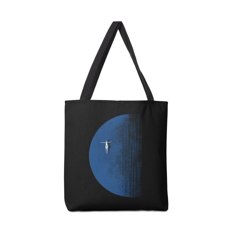 Pure Blue Moon Phantasy Accessories Tote Bag Bag by bulo