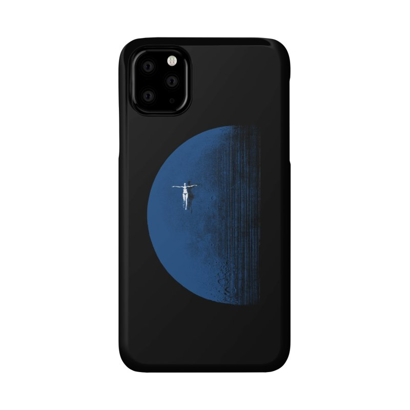 Pure Blue Moon Phantasy Accessories Phone Case by bulo