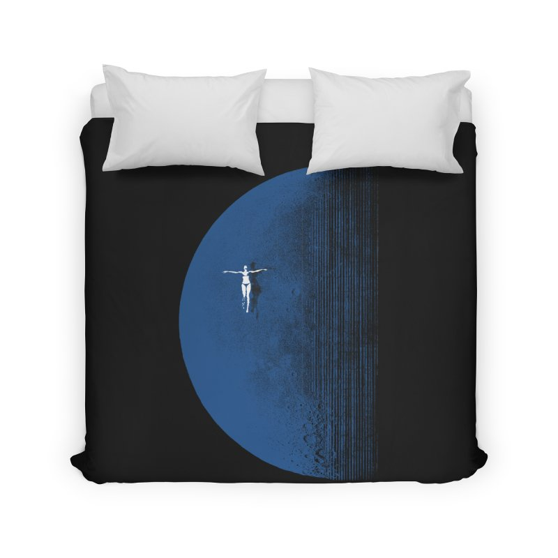 Pure Blue Moon Phantasy Home Duvet by bulo