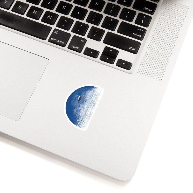 Pure Blue Moon Phantasy Accessories Sticker by bulo