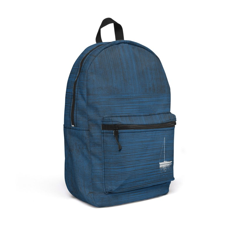 Pure Blue (re-textured) Accessories Backpack Bag by bulo