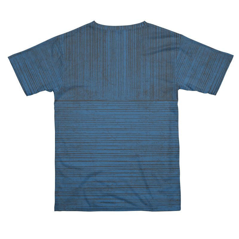 Pure Blue (re-textured) Women's Cut & Sew by bulo