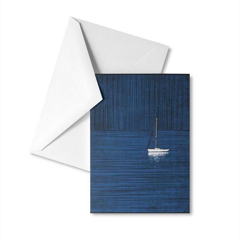 Pure Blue (re-textured) Accessories Greeting Card by bulo