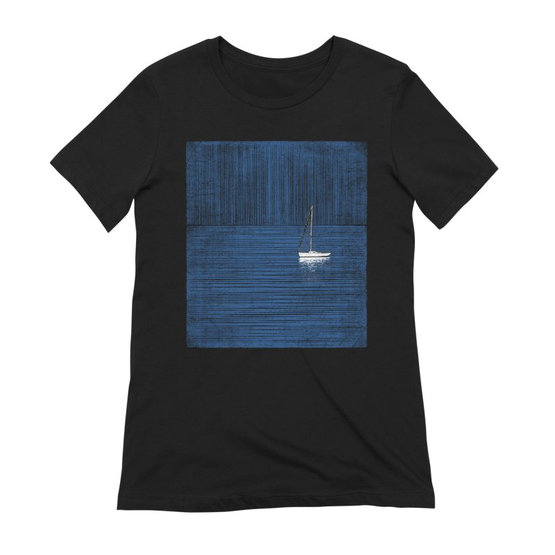Pure Blue (re-textured) Women's Extra Soft T-Shirt by bulo