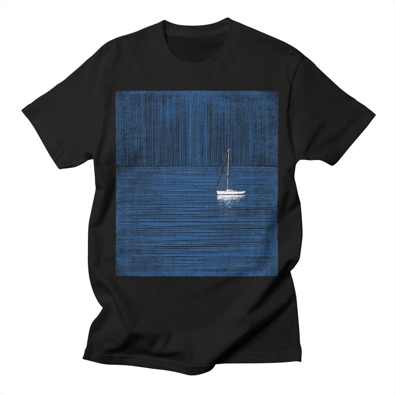 Pure Blue (re-textured) Men's T-Shirt by bulo
