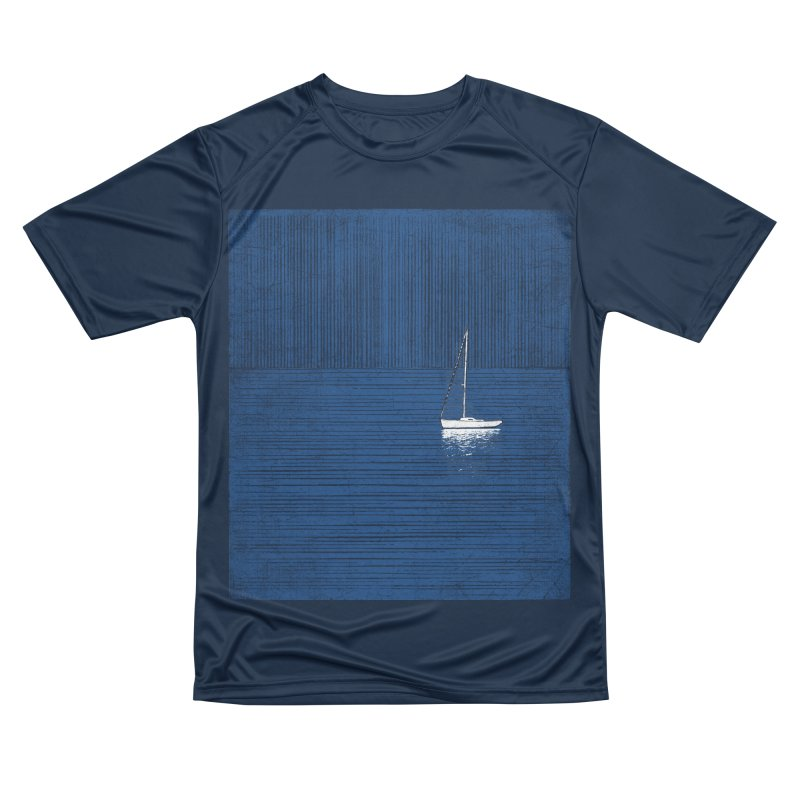 Pure Blue (re-textured) Women's Performance Unisex T-Shirt by bulo