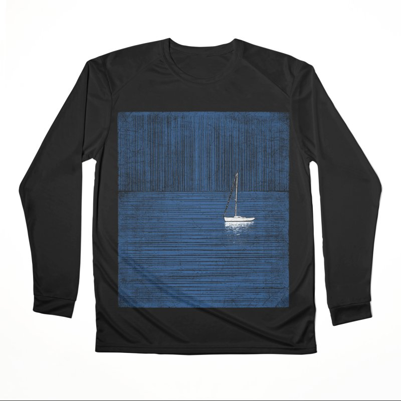 Pure Blue (re-textured) Women's Performance Unisex Longsleeve T-Shirt by bulo