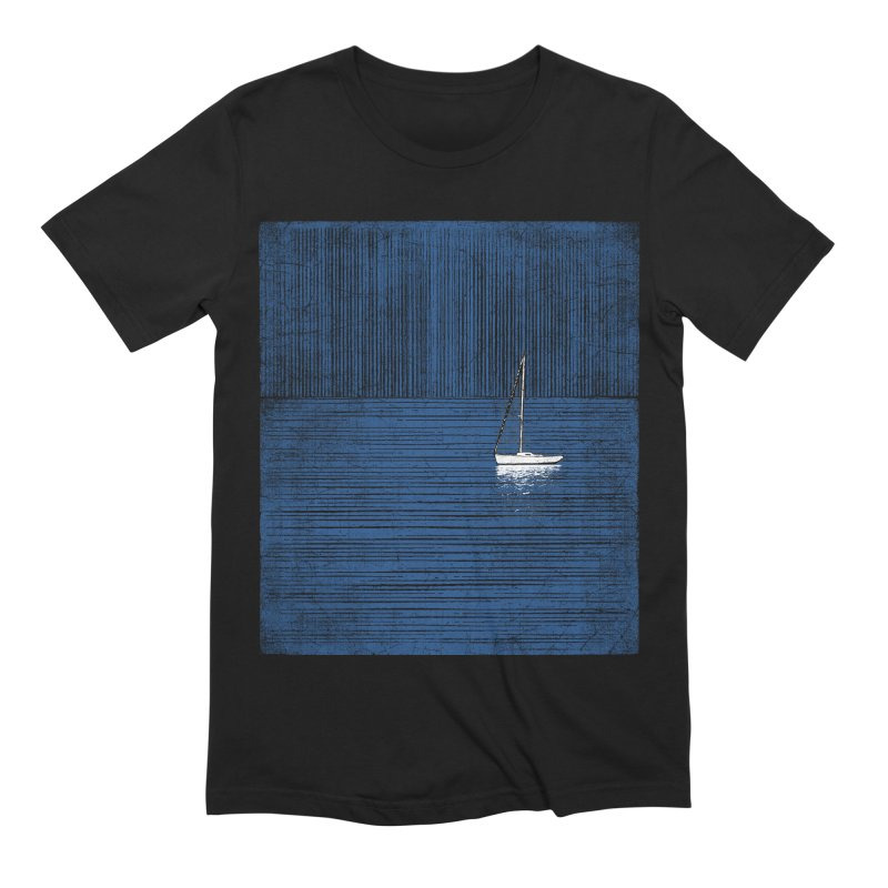 Pure Blue (re-textured) Men's Extra Soft T-Shirt by bulo