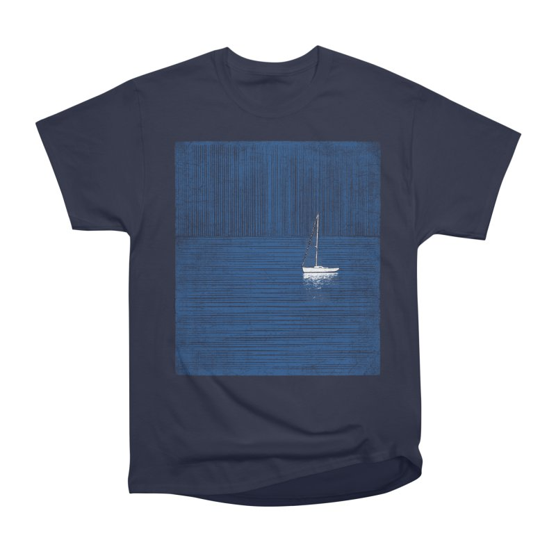 Pure Blue (re-textured) Men's Heavyweight T-Shirt by bulo