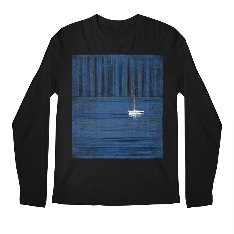 Pure Blue (re-textured) Men's Regular Longsleeve T-Shirt by bulo