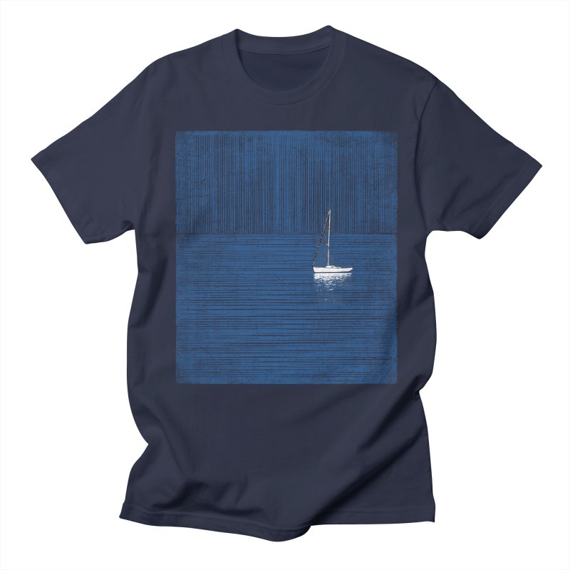 Pure Blue (re-textured) Men's Regular T-Shirt by bulo