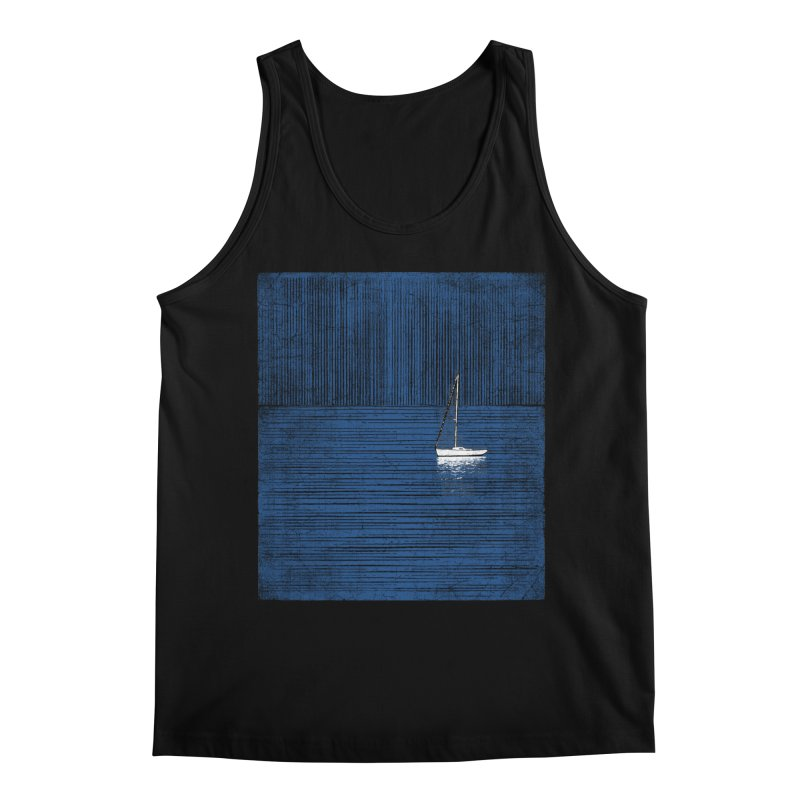 Pure Blue (re-textured) Men's Regular Tank by bulo