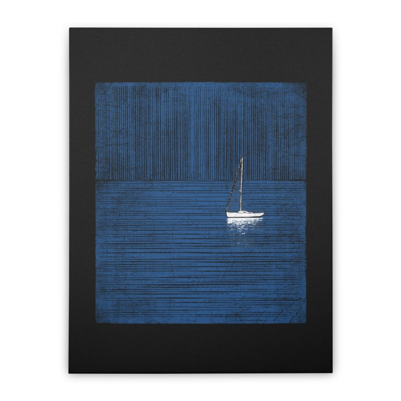 Pure Blue (re-textured) Home Stretched Canvas by bulo