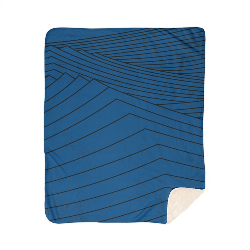 Twilight Blues Home Blanket by bulo