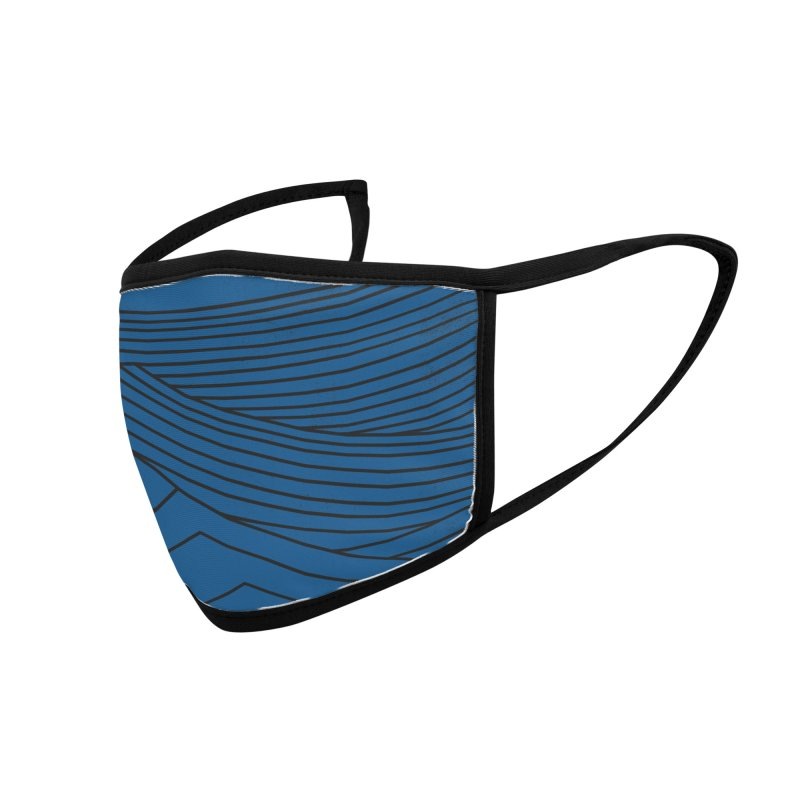Twilight Blues Accessories Face Mask by bulo