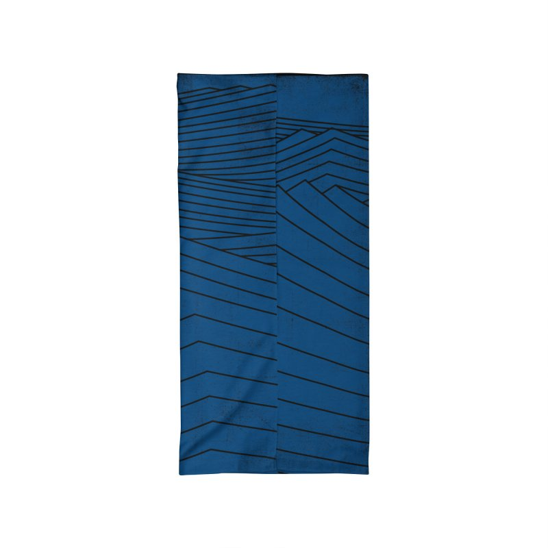 Twilight Blues Accessories Neck Gaiter by bulo