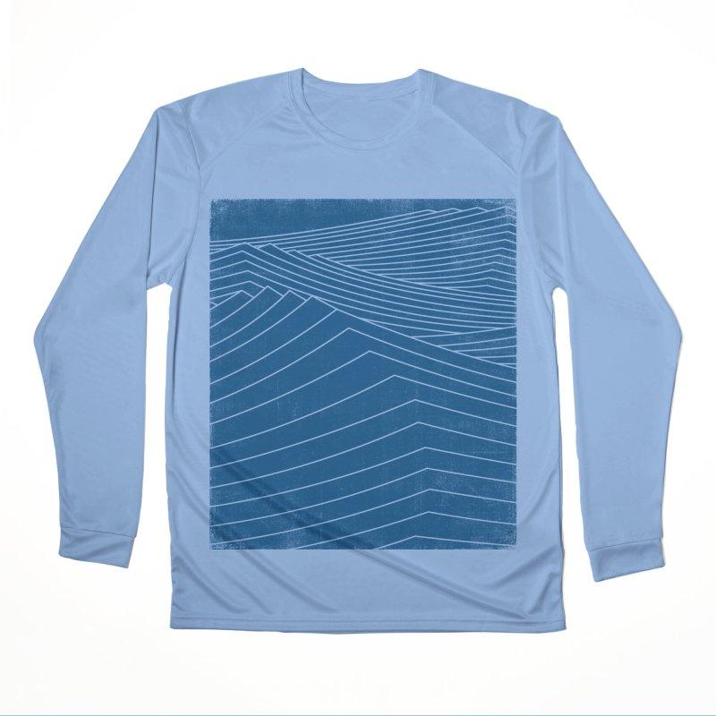 Twilight Blues Men's Performance Longsleeve T-Shirt by bulo