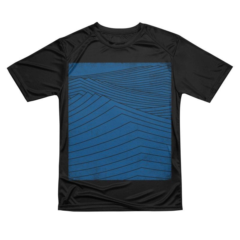 Twilight Blues Women's Performance Unisex T-Shirt by bulo