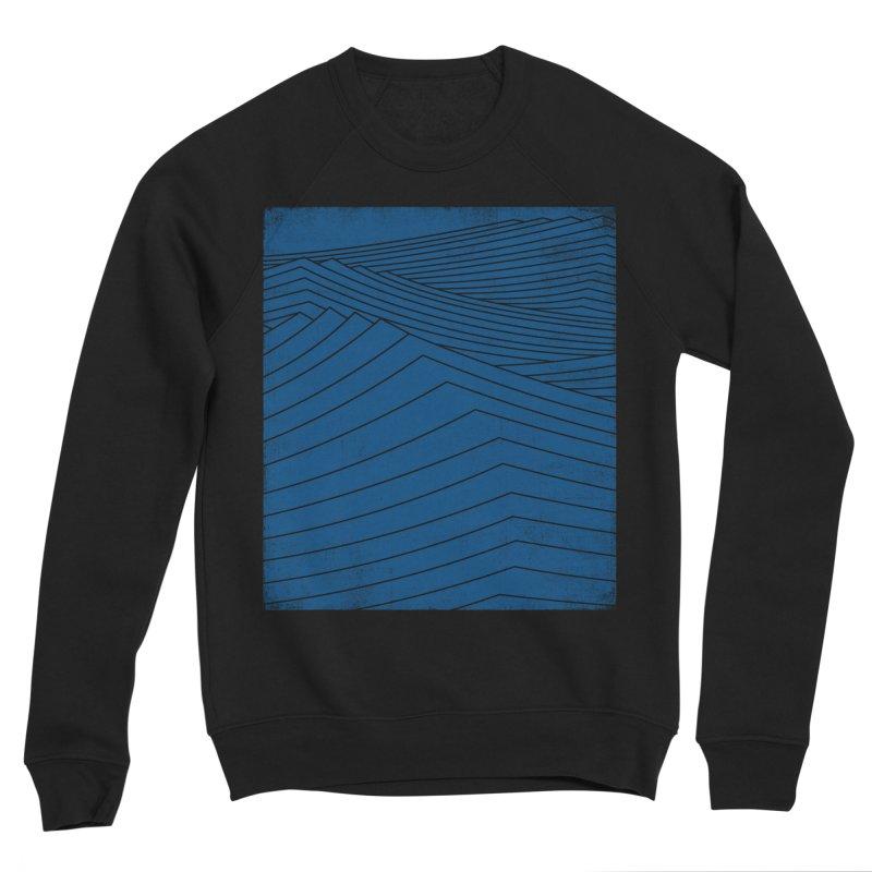 Twilight Blues Men's Sponge Fleece Sweatshirt by bulo