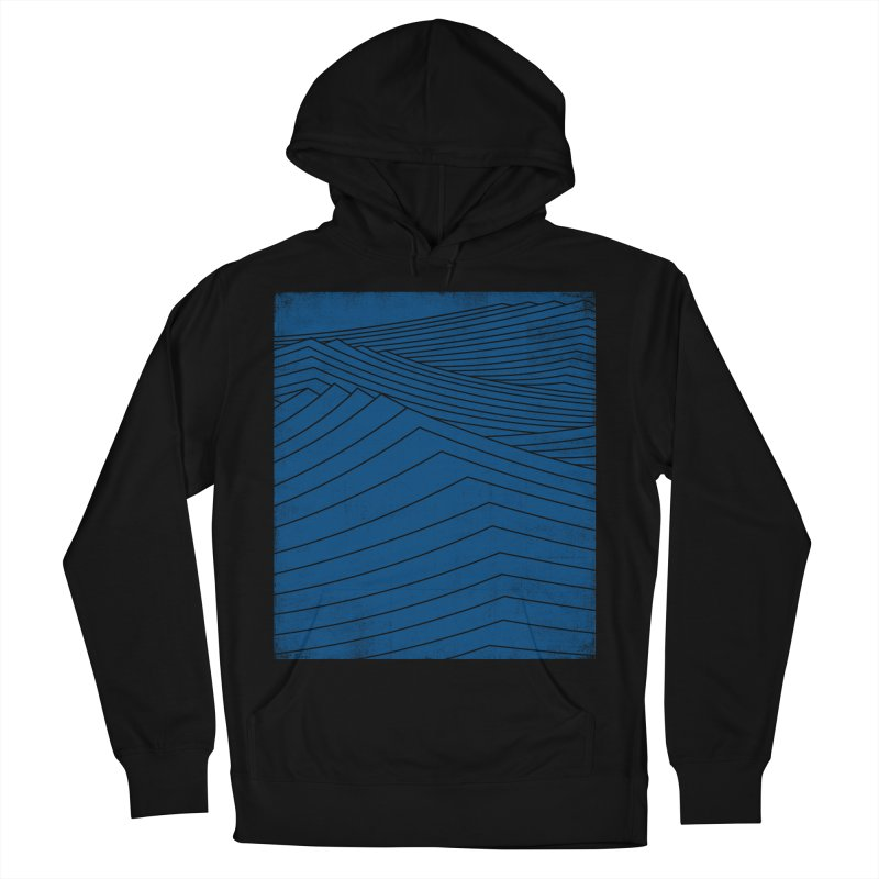 Twilight Blues Men's French Terry Pullover Hoody by bulo