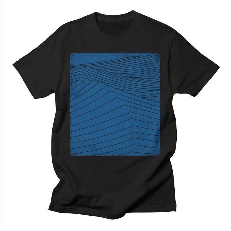 Twilight Blues Men's T-Shirt by bulo