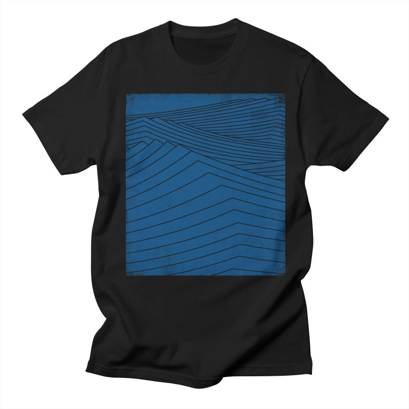 Twilight Blues Men's Regular T-Shirt by bulo