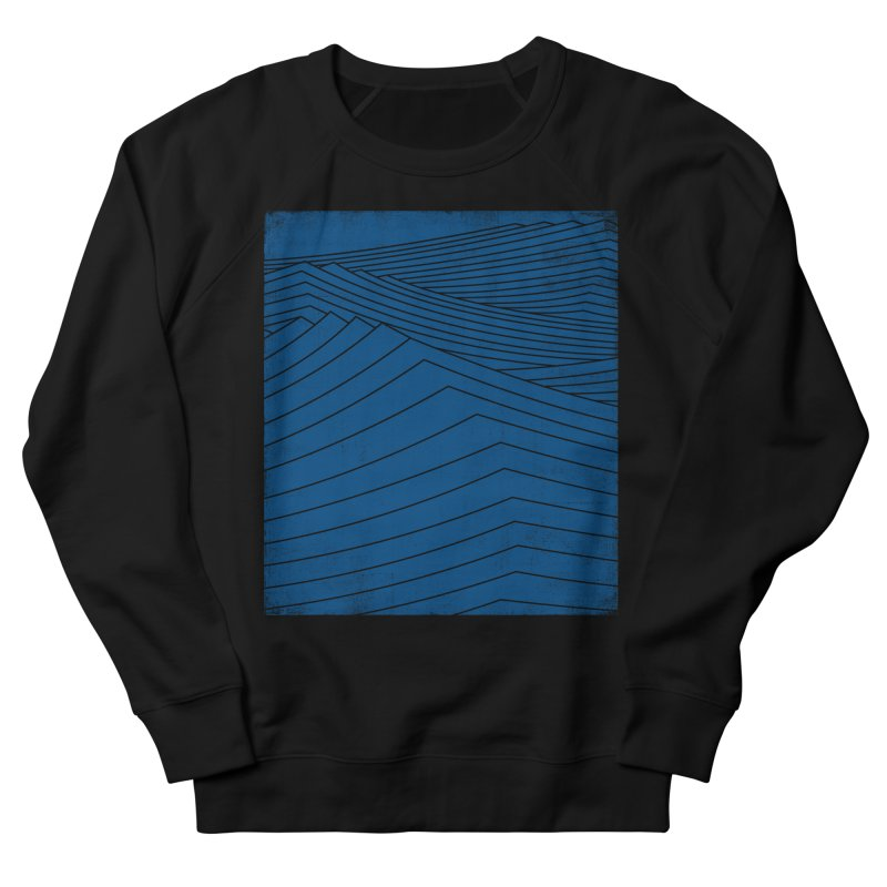 Twilight Blues Men's French Terry Sweatshirt by bulo