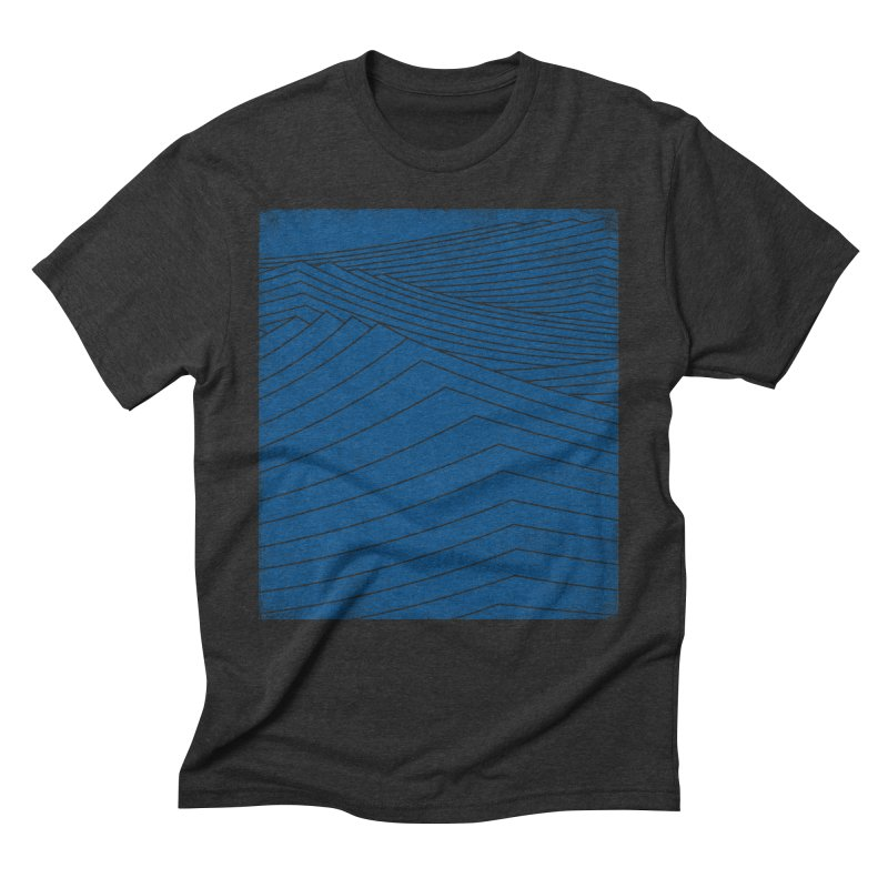 Twilight Blues Men's Triblend T-Shirt by bulo