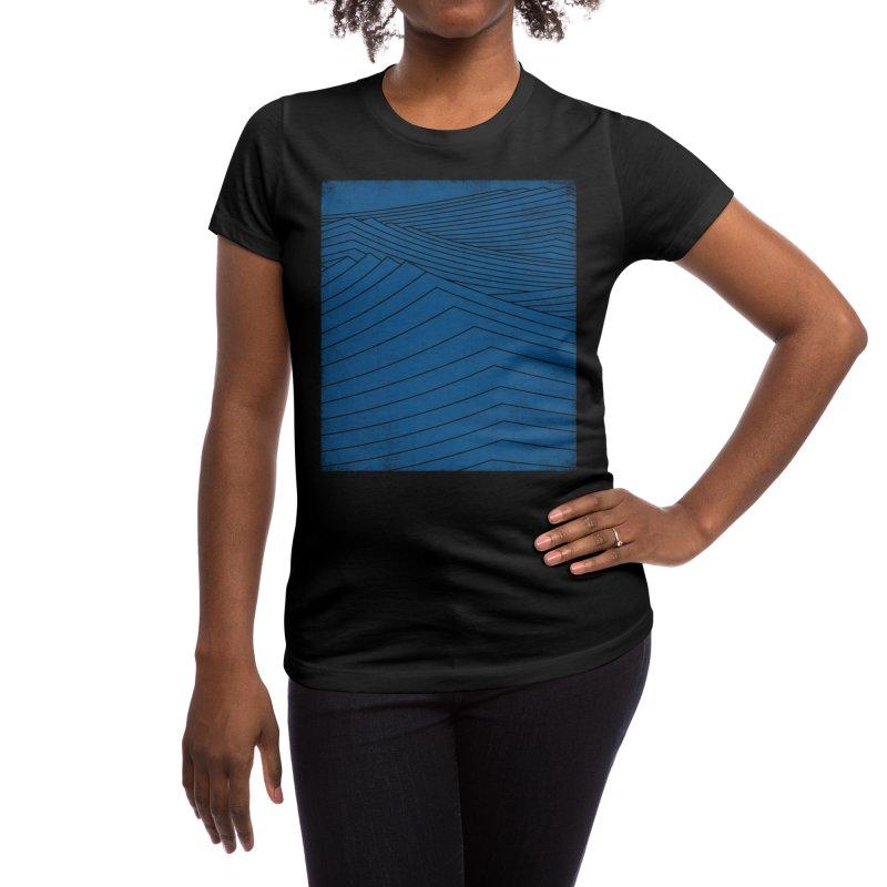 Twilight Blues Women's T-Shirt by bulo