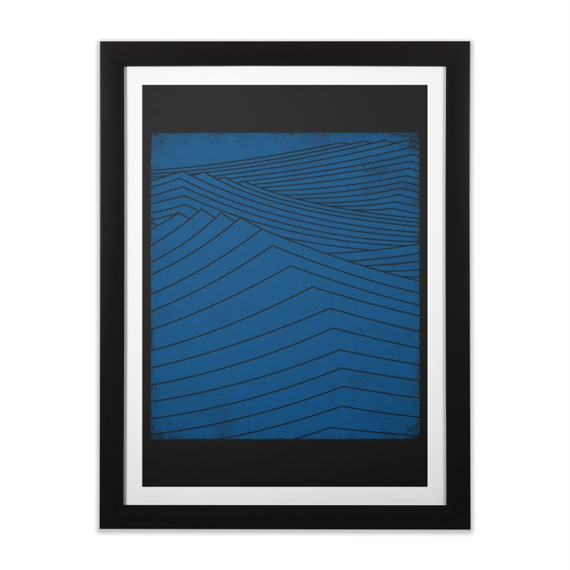 Twilight Blues Home Framed Fine Art Print by bulo
