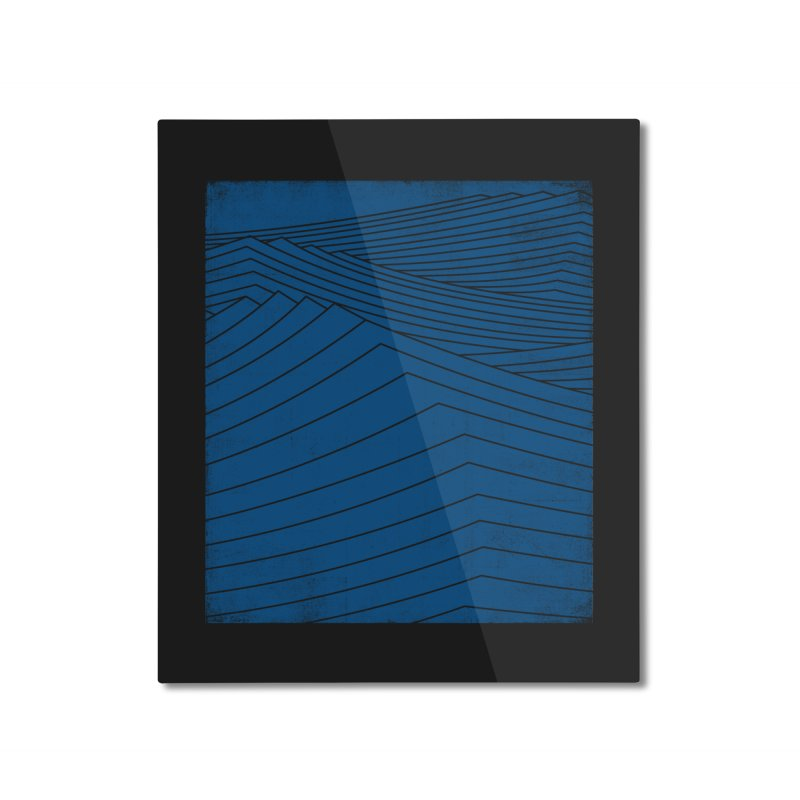 Twilight Blues Home Mounted Aluminum Print by bulo
